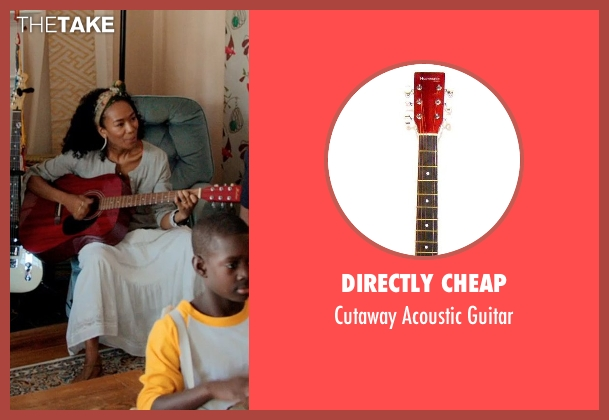 Directly Cheap guitar from Black or White seen with Janeline Hayes (Dondi)