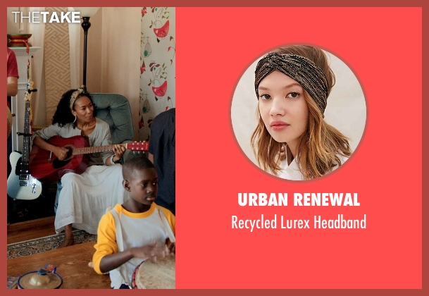 Urban Renewal headband from Black or White seen with Janeline Hayes (Dondi)