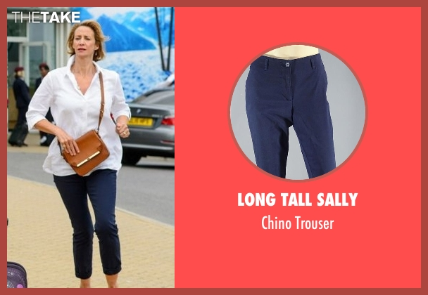 Long Tall Sally blue trouser from Me Before You seen with Janet McTeer (Camilla Traynor)