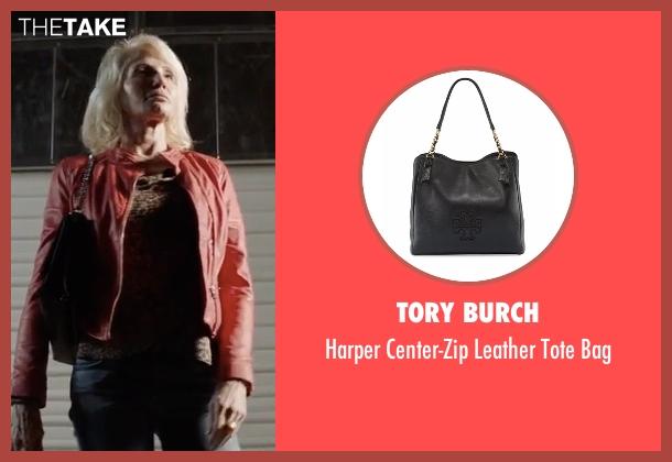 Tory Burch black bag from Animal Kingdom seen with Janine 'Smurf' Cody (Ellen Barkin)