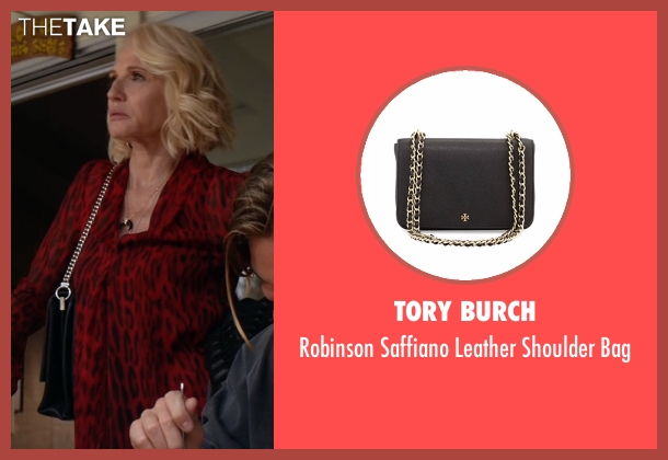 Tory Burch black bag from Animal Kingdom seen with Janine 'Smurf' Cody (Ellen Barkin)