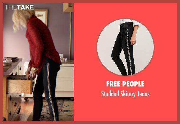 Free People black jeans from Animal Kingdom seen with Janine 'Smurf' Cody (Ellen Barkin)