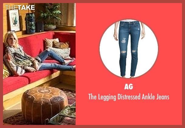 AG blue jeans from Animal Kingdom seen with Janine 'Smurf' Cody (Ellen Barkin)