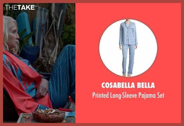 Cosabella Bella blue set from Animal Kingdom seen with Janine 'Smurf' Cody (Ellen Barkin)