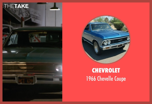 Chevrolet coupe from Animal Kingdom seen with Janine 'Smurf' Cody (Ellen Barkin)