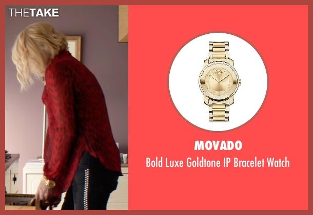 Movado gold watch from Animal Kingdom seen with Janine 'Smurf' Cody (Ellen Barkin)