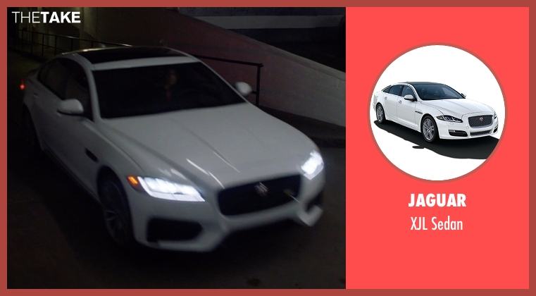 Jaguar sedan from Animal Kingdom seen with Janine 'Smurf' Cody (Ellen Barkin)