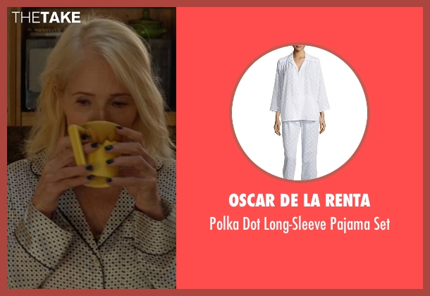 Oscar de la Renta white set from Animal Kingdom seen with Janine 'Smurf' Cody (Ellen Barkin)