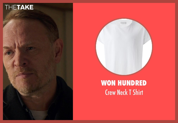 Won Hundred white shirt from Poltergeist seen with Jared Harris (Carrigan Burke)