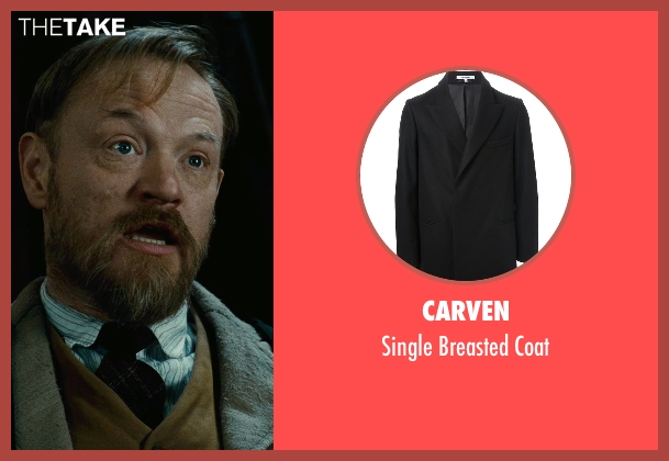 Carven black coat from Sherlock Holmes: A Game of Shadows seen with Jared Harris (Professor James Moriarty)