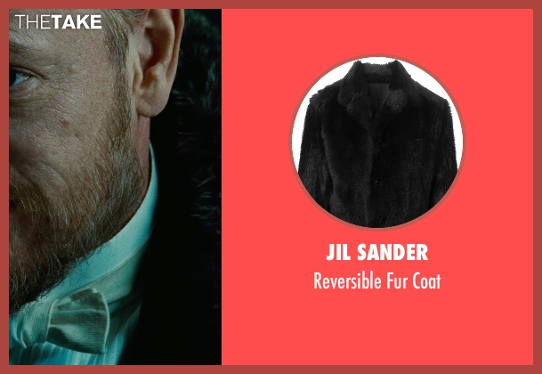 Jil Sander black coat from Sherlock Holmes: A Game of Shadows seen with Jared Harris (Professor James Moriarty)