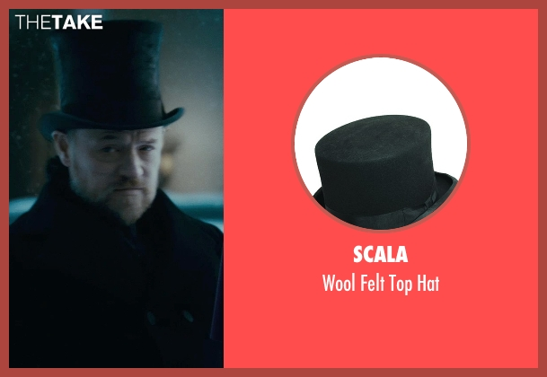 Scala black hat from Sherlock Holmes: A Game of Shadows seen with Jared Harris (Professor James Moriarty)