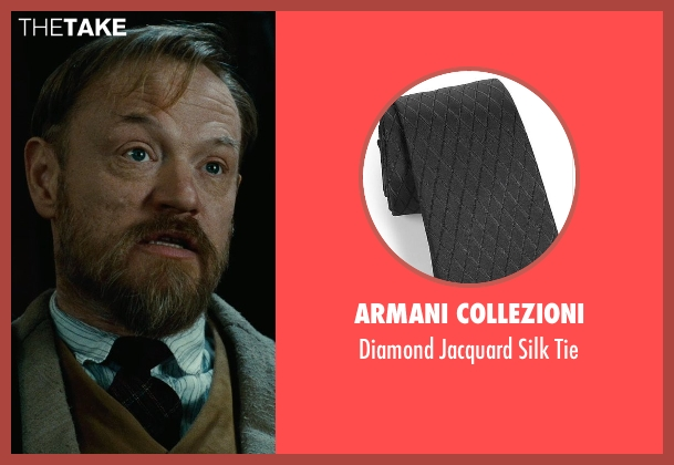 Armani Collezioni black tie from Sherlock Holmes: A Game of Shadows seen with Jared Harris (Professor James Moriarty)