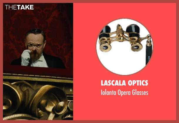 LaScala Optics glasses from Sherlock Holmes: A Game of Shadows seen with Jared Harris (Professor James Moriarty)