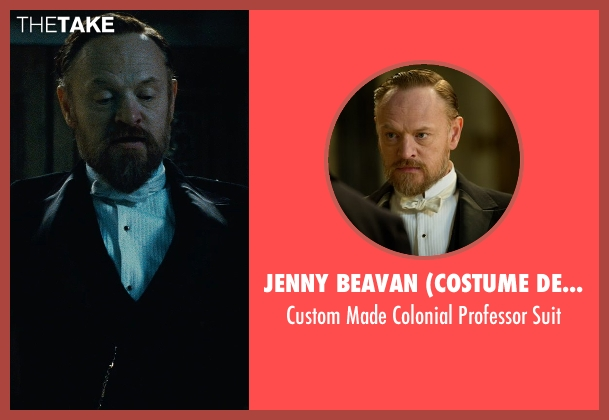 Jenny Beavan (Costume Designer) suit from Sherlock Holmes: A Game of Shadows seen with Jared Harris (Professor James Moriarty)