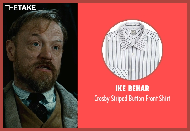 Ike Behar white shirt from Sherlock Holmes: A Game of Shadows seen with Jared Harris (Professor James Moriarty)