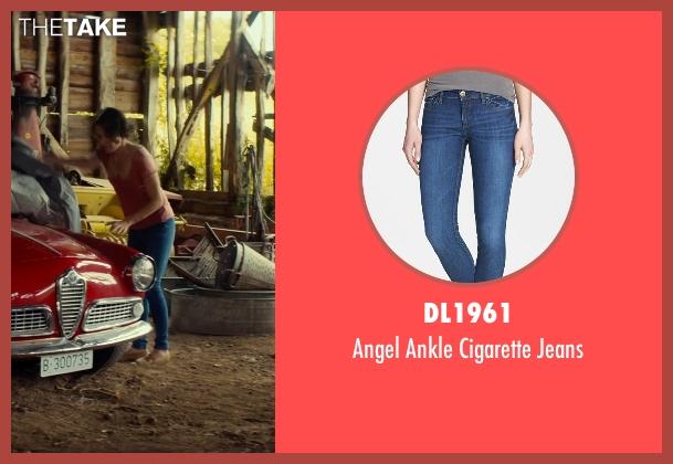 DL1961 blue jeans from The Gunman seen with Jasmine Trinca (Annie)