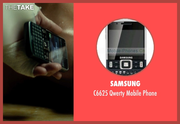 Samsung phone from The Gunman seen with Jasmine Trinca (Annie)