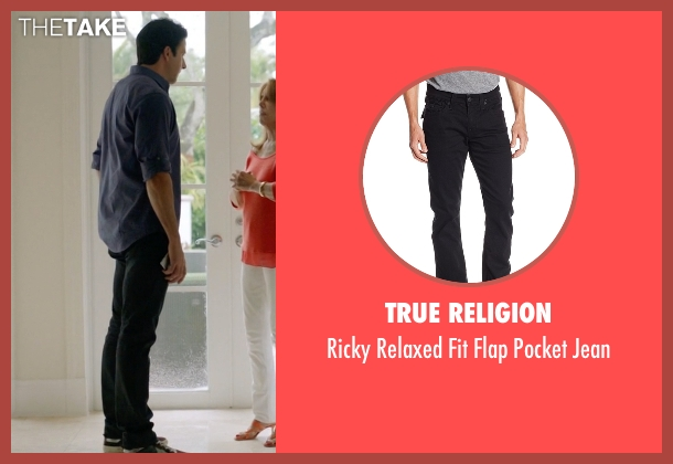True Religion black jean from Ballers seen with Jason (Troy Garity)