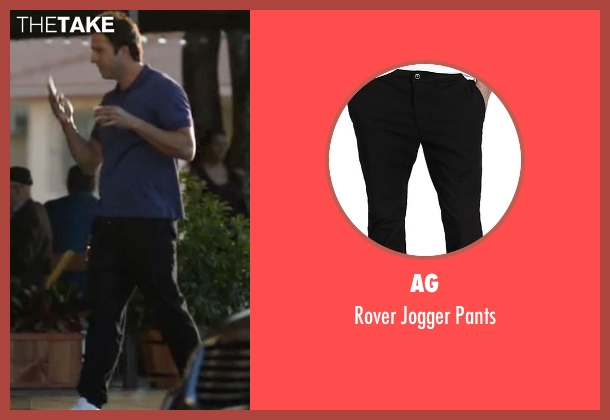 AG black pants from Ballers seen with Jason (Troy Garity)