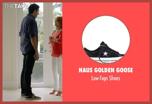 Haus Golden Goose black shoes from Ballers seen with Jason (Troy Garity)