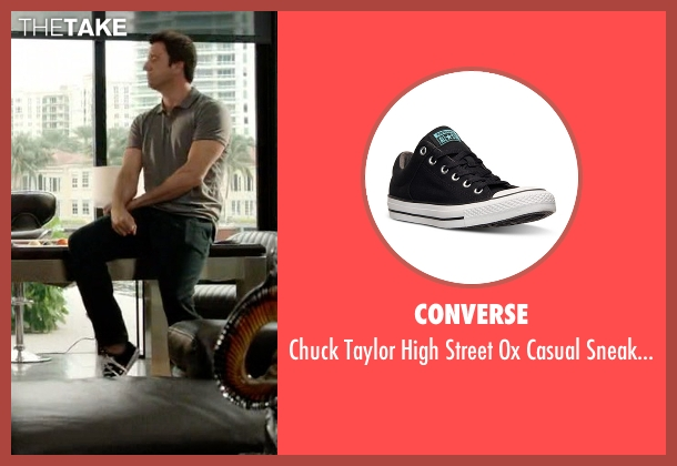 Converse black sneakers from Ballers seen with Jason (Troy Garity)