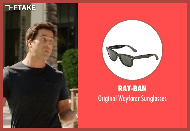 Ray-Ban black sunglasses from Ballers seen with Jason (Troy Garity)