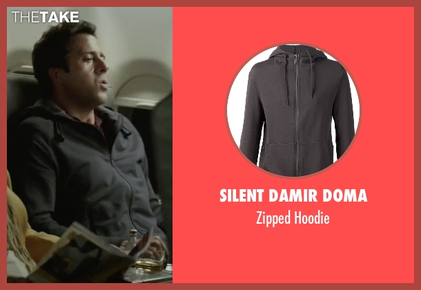 Silent Damir Doma gray hoodie from Ballers seen with Jason (Troy Garity)