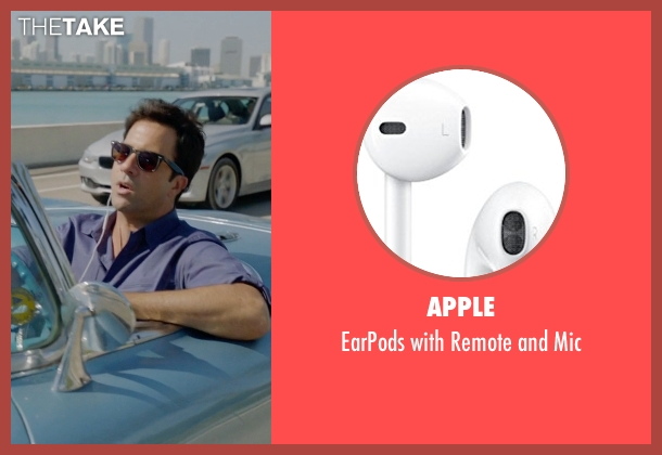 Apple mic from Ballers seen with Jason (Troy Garity)
