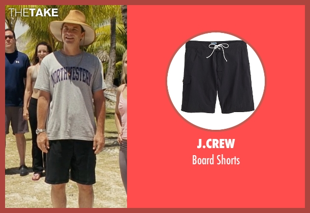 J.Crew black shorts from Couple's Retreat seen with Jason Bateman (Jason Smith)
