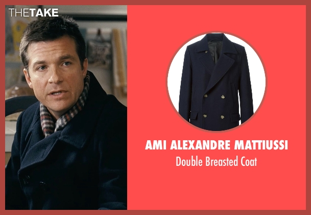 Ami Alexandre Mattiussi blue coat from Couple's Retreat seen with Jason Bateman (Jason Smith)
