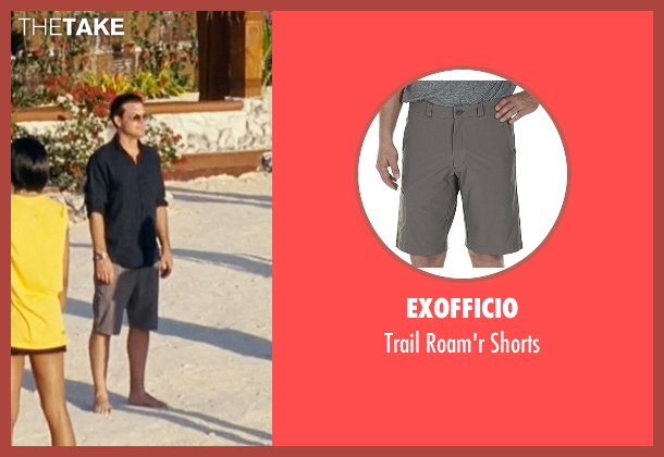 ExOfficio gray shorts from Couple's Retreat seen with Jason Bateman (Jason Smith)