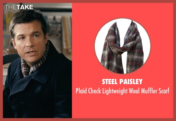 Steel Paisley red scarf from Couple's Retreat seen with Jason Bateman (Jason Smith)