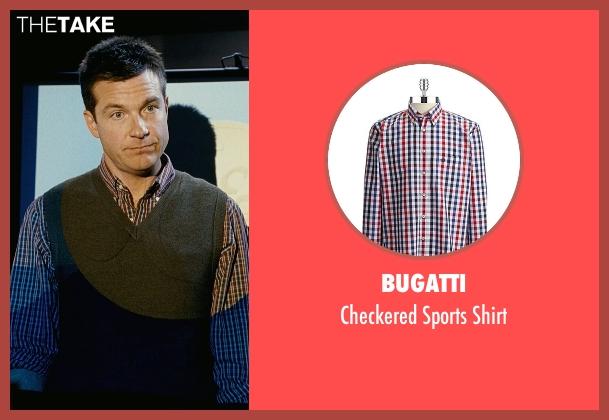 Bugatti red shirt from Couple's Retreat seen with Jason Bateman (Jason Smith)