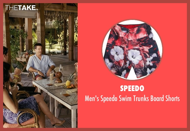 Speedo red shorts from Couple's Retreat seen with Jason Bateman (Jason Smith)