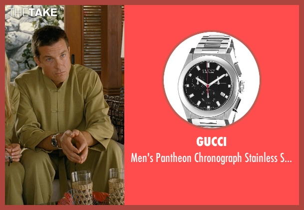 Gucci silver dial from Couple's Retreat seen with Jason Bateman (Jason Smith)