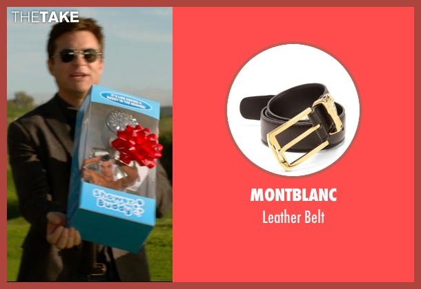 Montblanc black belt from Horrible Bosses 2 seen with Jason Bateman (Nick Hendricks)