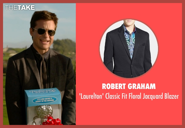 Robert Graham black blazer from Horrible Bosses 2 seen with Jason Bateman (Nick Hendricks)