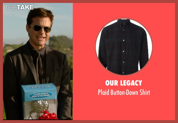 Our Legacy black shirt from Horrible Bosses 2 seen with Jason Bateman (Nick Hendricks)