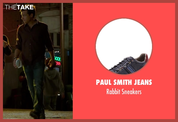 Paul Smith Jeans black sneakers from Horrible Bosses 2 seen with Jason Bateman (Nick Hendricks)