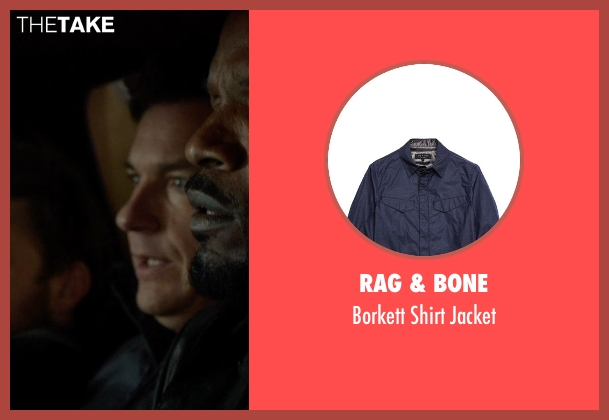 Rag & Bone blue jacket from Horrible Bosses 2 seen with Jason Bateman (Nick Hendricks)