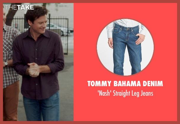 Tommy Bahama Denim blue jeans from Horrible Bosses 2 seen with Jason Bateman (Nick Hendricks)