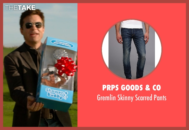 Prps Goods & Co blue pants from Horrible Bosses 2 seen with Jason Bateman (Nick Hendricks)