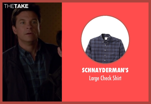 Schnayderman's blue shirt from Horrible Bosses 2 seen with Jason Bateman (Nick Hendricks)