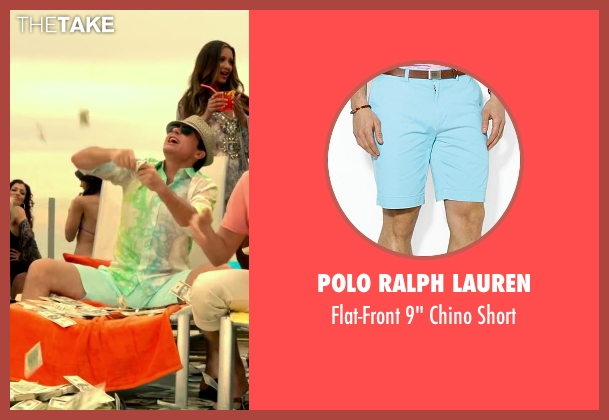 Polo Ralph Lauren blue short from Horrible Bosses 2 seen with Jason Bateman (Nick Hendricks)