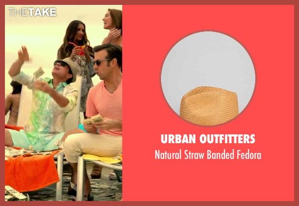 Urban Outfitters brown fedora from Horrible Bosses 2 seen with Jason Bateman (Nick Hendricks)