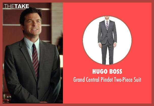 Hugo Boss gray suit from Horrible Bosses 2 seen with Jason Bateman (Nick Hendricks)