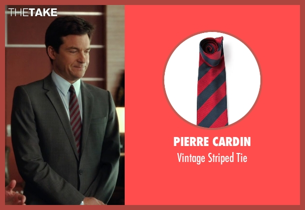 Pierre Cardin red tie from Horrible Bosses 2 seen with Jason Bateman (Nick Hendricks)