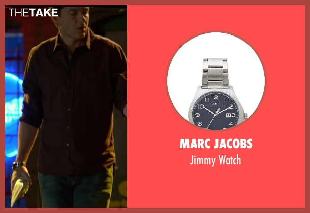 Marc Jacobs silver watch from Horrible Bosses 2 seen with Jason Bateman (Nick Hendricks)