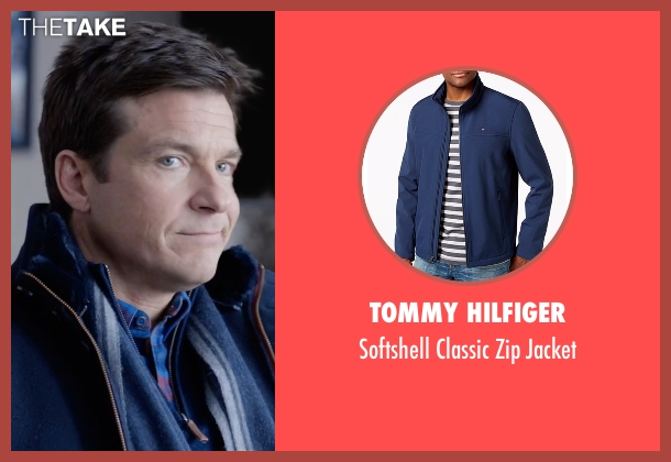 Tommy Hilfiger blue jacket from Office Christmas Party seen with Jason Bateman (Josh)